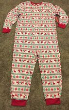 Jammies for Your Families Mens Christmas Fleece Pajama PJs One Piece Size XL