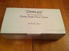 "Danbury Mint ""Dimples"" Shirley Temple Movie Classics 10"" Doll w/ Box"