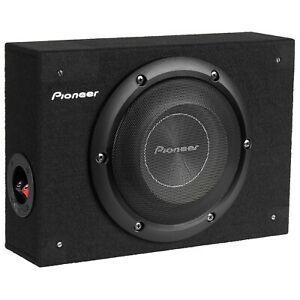 """Pioneer TS-A2000LB 8"""" Shallow Compact Pre-Loaded Sealed Enclosure Car Subwoofer"""