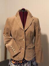 New ListingNew Michael Kors Camel Corduroy 100% Cotton Jacket Coat Size 12 Size L