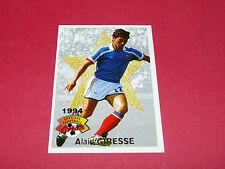 FOOTBALL CARD PANINI 1994 ALAIN GIRESSE FRANCE GIRONDINS BORDEAUX MARSEILLE OM