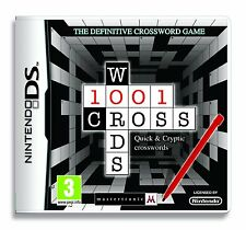 1001 Crosswords (Nintendo DS) *NEW & SEALED*