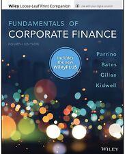 Fundamentals of Corporate Finance 4e Wiley Plus LOOSE LEAF