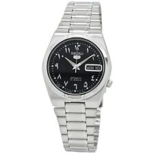 Seiko 5 Automatic Black Dial Stainless Steel Men's Watch SNK063J5