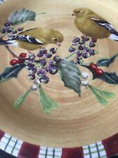 Lenox 4pc Winter Greetings Everyday Cardinal Salad Plate Set-NEW....!