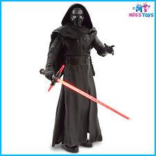 "Star Wars The Force Awakens Kylo Ren 14 1/2"" Talking Figure Light up Lightsaber"