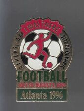 RARE PINS PIN'S .. OLYMPIQUE OLYMPIC 1996 FOOTBALL SOCCER ~12