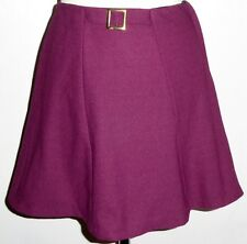 VINTAGE 60S ORIGINAL KEYNOTE A LINE MINI SKIRT UK 6 MOD GOGO