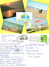 1990's QUAY WEST HOLIDAY RESORT CARDIGANSHIRE WALES COLOUR POSTCARD