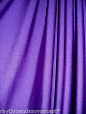 Dance Costume Lycra Spandex Purple Shiny Nylon 50cm - 150cm wide