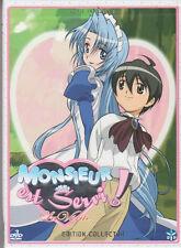 DVD MONSIEUR EST SERVI la vérité coffret collector intégrale 3 DVD manga ANIME