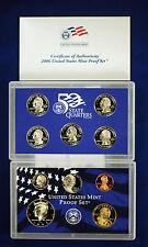 2006-s U.S. Proof Set. Complete and Original in BLUE  mint paper box