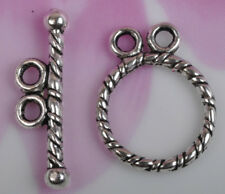 FREE SHIP 10sets tibetan silver 2-2hole Clasps JK0783
