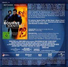 DIE BOURNE IDENTITÄT (Matt Damon, Franka Potente) DVD im Pappschuber NEU
