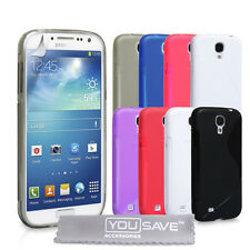 Accessories For The New Samsung Galaxy S4 i9500 Stylish Silicone Gel Case Cover