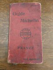 guide michelin 1907  guide rouge 8 ème année usures