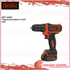 BLACK+DECKER Trapano/Avvitatore 10.8V Litio ART. 94901