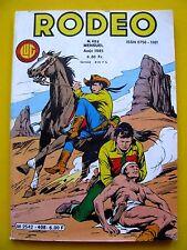Rodeo 408 Tex Willer Editions Lug 1985 Très bon état