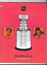 1972 STANLEY CUP PLAYOFFS