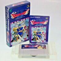 Nintendo Super Famicom SFC DRAGON QUEST I II 1 2 Japan Import SNES Enix Complete