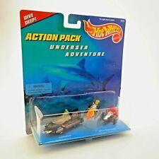 Vintage 1996 Hot Wheels Action Pack Undersea Adventure | Mattel Submarine | New