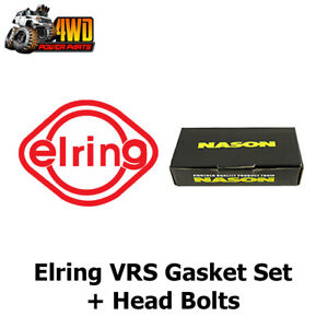 Elring VRS Gasket Set + Nason Head Bolts to Suit Mercedes Benz Vito 639 601
