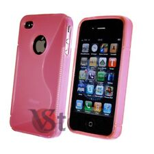 Cover Gel Silicone Pink S-Line For APPLE iPhone 4/4G/4S