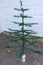 37 Inch Tall - Old Germany Real Goose Feather Christmas Tree
