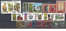 Nieuw-Zeeland 1976 volledige jaargang kompleet (1976) postfris xx