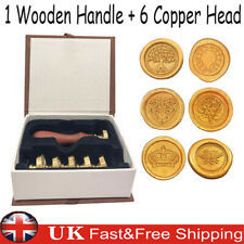 Wax Seal Stamp Kit Custom Made Gift For Envelopes And For Use With Sealing Wax P