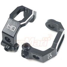 Hot Racing Aluminum C-Hubs 2pcs Black For Traxxas 4-Tec 2.0 RC Cars #TRF1901