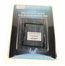 PENTAX K-5 & PENTAX K-7 LCD Protettore in vetro NUOVO FOTGA PRO