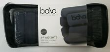 Bala Bangles Wrist Ankle Weights Fully Adjustable 2per Set 1 Pound Each Charcoal