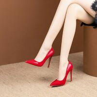 Classic Fashion Women High Stiletto Heel Pointy Toe Pumps Removable Work Shoe Sz
