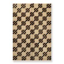 6' x 9' Hand Knotted Loop & Cut Pile Wool Tibetan Oriental Area Rug 6x9 ft Tan