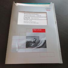 Werkstatthandbuch Audi 80 Cabriolet Cabrio Automatik Getriebe 01N Eigendiagnose