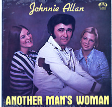 Johnnie Allan ‎Sealed Jin Cajun Swamp Pop LP Another Man's Woman