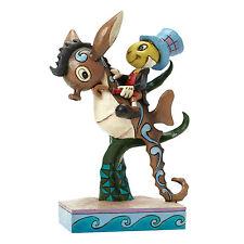 DISNEY TRADITIONS 4043648 Horsing Around (Jiminy Cricket) NUOVO CON SCATOLA