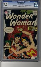 Wonder Woman (1942) # 94 - CGC 7.0 Cream/OW Pgs - Only five copies graded higher