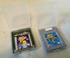 Tweety's Highflying Adventure & Yoshi's Cookie Gameboy Case & Cartridge (A7)