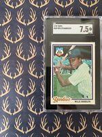 Willie Randolph - 1978 Topps - SGC 7.5 - Yankees