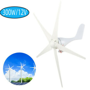 5 Blades DC 12V Wind Turbine Generator Kit Charger Controller Home Power New
