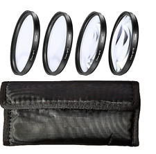 Macro Close Up Filter Set for Canon EOS M3 Mirrorless Camera w/ 18-55mm STM Lens