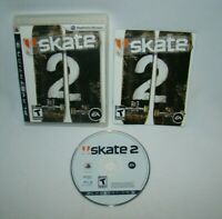 PlayStation 3 PS3 Skate 2  game complete w/ case & manual 2009 EA tested working