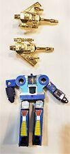 Transformers Hasbro G1 Mini Cassette 1984 Frenzy w/ Two Silver Guns