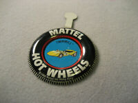 Vintage Hot Wheels Redlines Twinmill Badge With Tab
