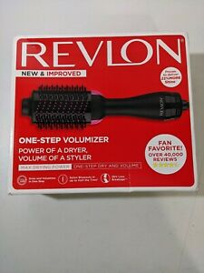 Revlon One Step Hair Dryer And Volumizer Hot Air Brush Pink RVDR5222 Never Open