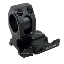 New (Black) Tactical QD Mount Fits 25mm / 30mm bodies Scope or Magnifier