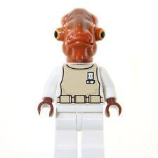 LEGO STAR WARS BRAND NEW ADMIRAL ACKBAR, FAST, FREE SHIPPING