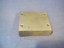 Old brass lock